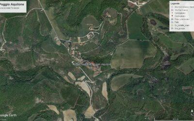 Poggio Aquilone, Camminare nella storia volando sulla valle –  giovedì 23 luglio 2020